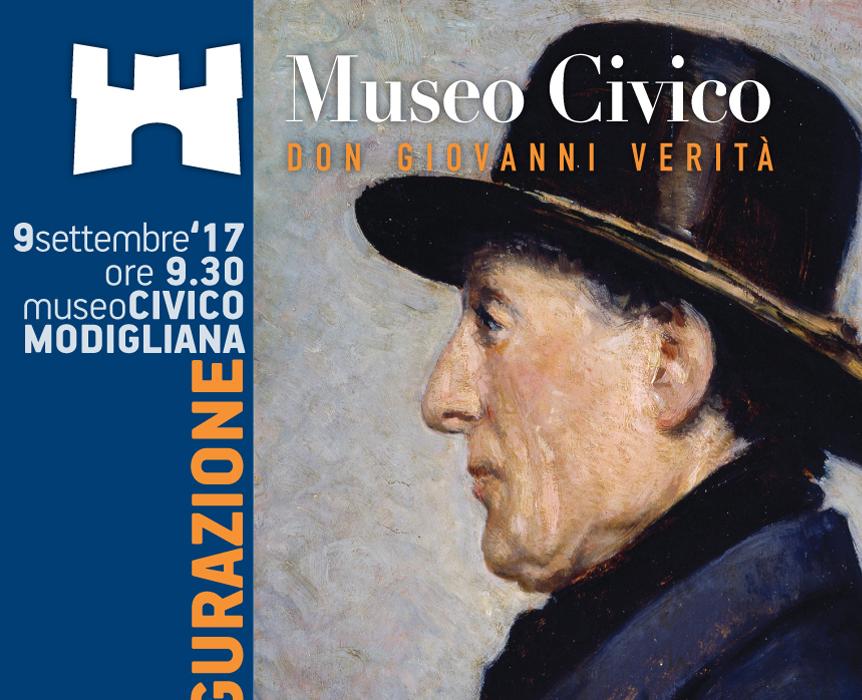 Poster Inaugurazione Museo Civico Don Giovanni Verità