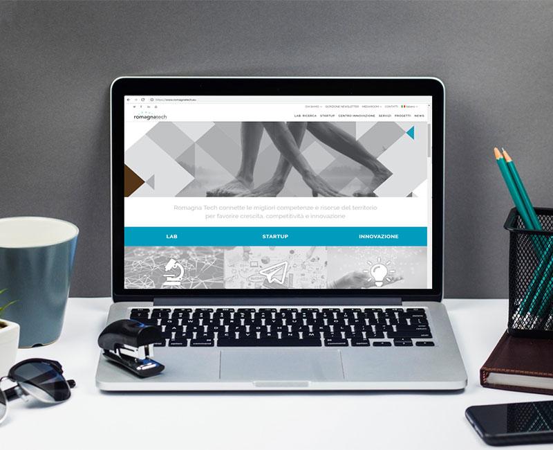 Romagna tech Sito web