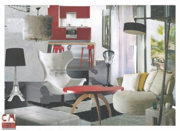 proposition de mobilier appartement 4