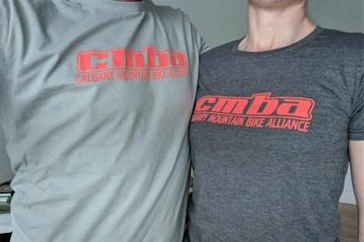 CMBA T-shirts