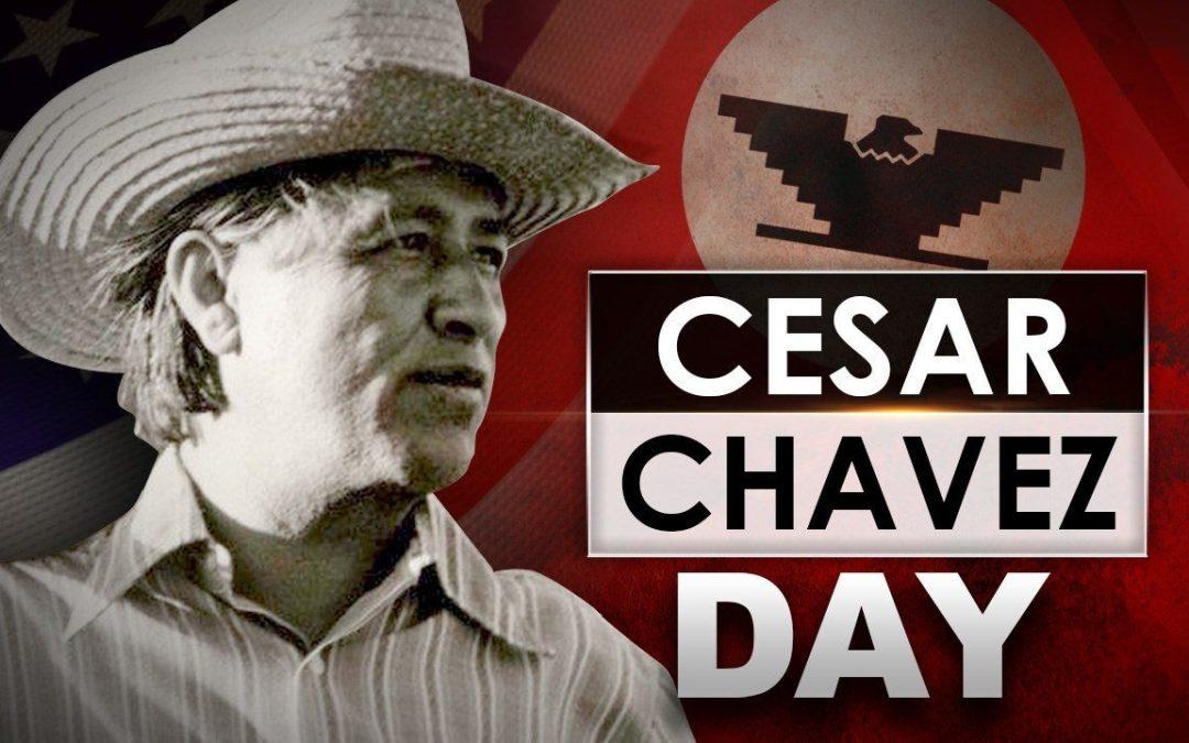 CMBG3 Commemorates Cesar Chavez Day
