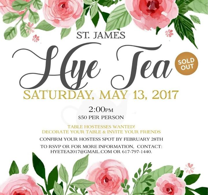 """CMBG3 Law Proudly Supports the St. James Armenian Church's Charity """"Hye Tea"""" Event"""