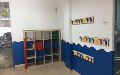 Pintura y arreglos en Escuela Infantil