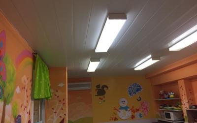 Falso techo en Escuela Infantil