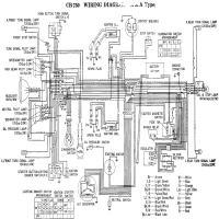 Diagrama honda cb750 71 k1