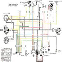 Diagrama suzuki ts250