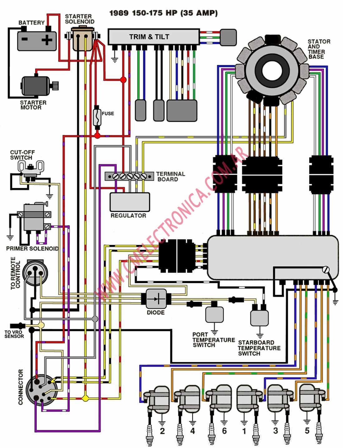 89 mariner 60 hp wiring diagrams hp free printable wiring diagrams
