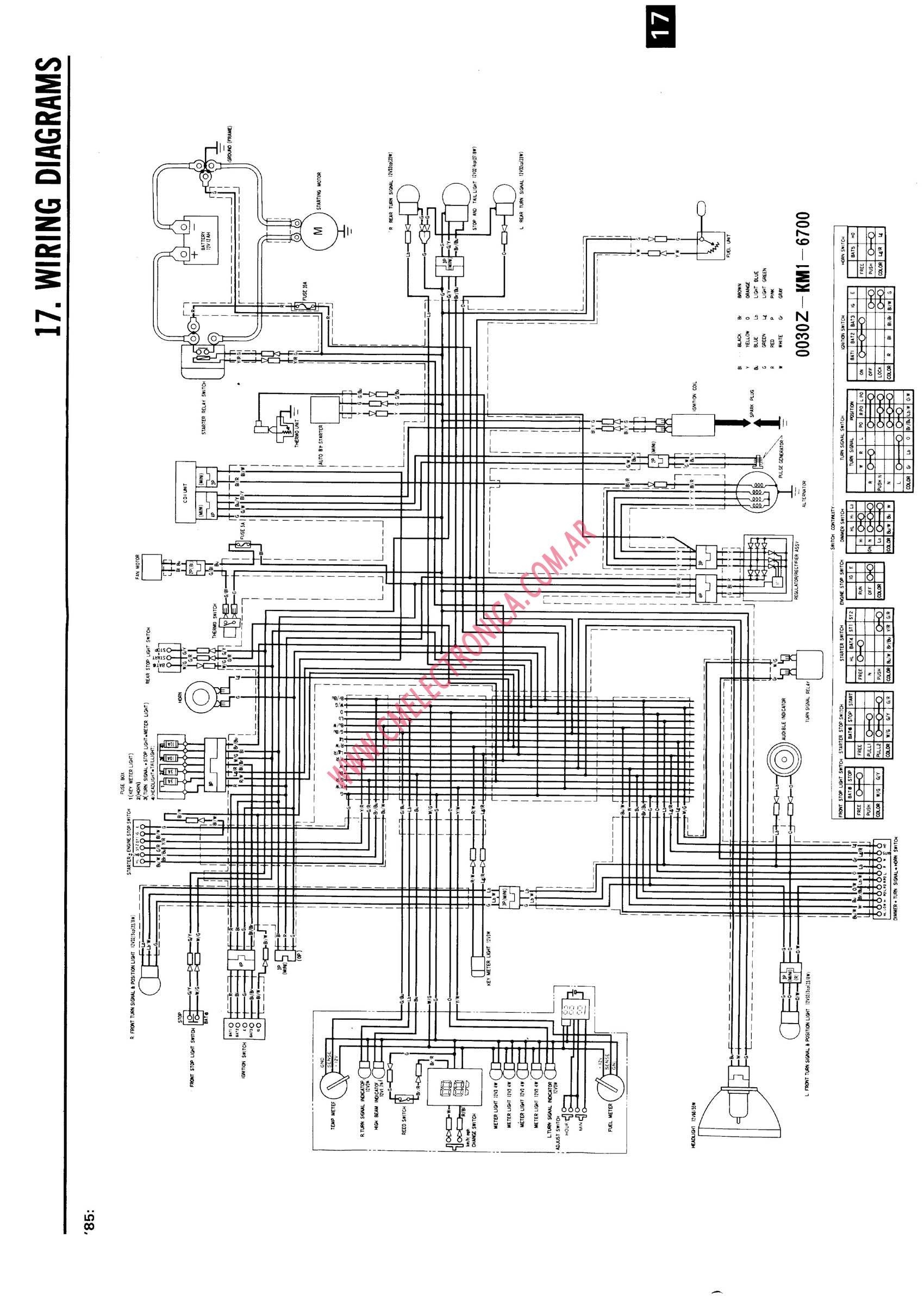 Aprilia Rx 50 Wiring
