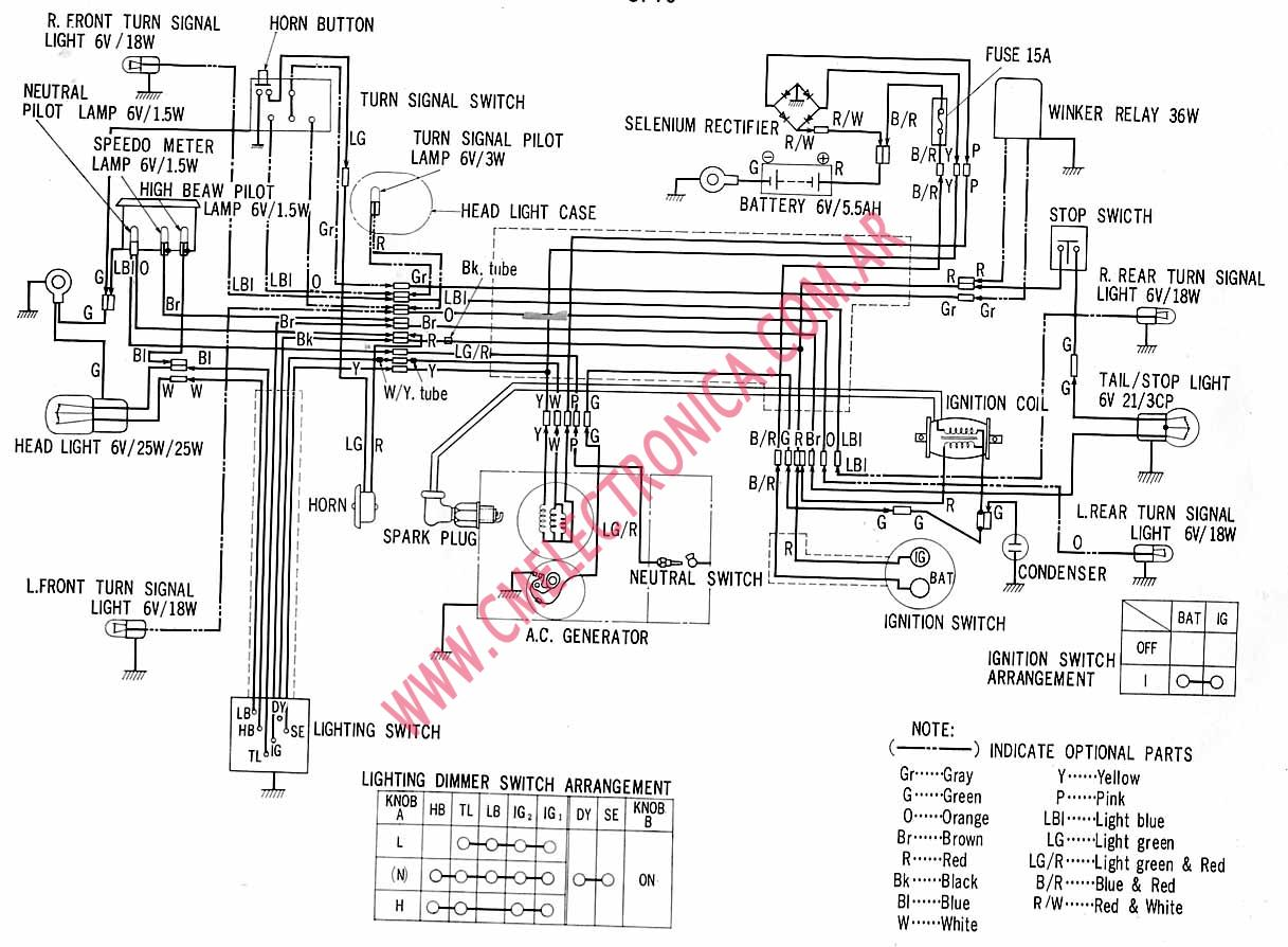 Polari Outlaw 90 Wiring Diagram