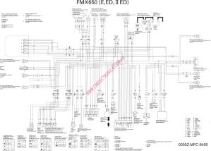 Diagrama honda fmx650