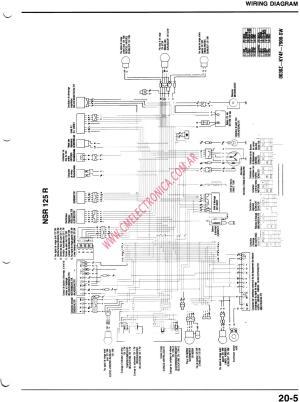 Honda nsr 125 wiring schematic