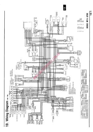 RX80 HONDA 1983 WIRING DIAGRAM  Auto Electrical Wiring