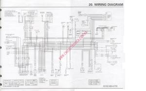 Diagrama honda vtx1300