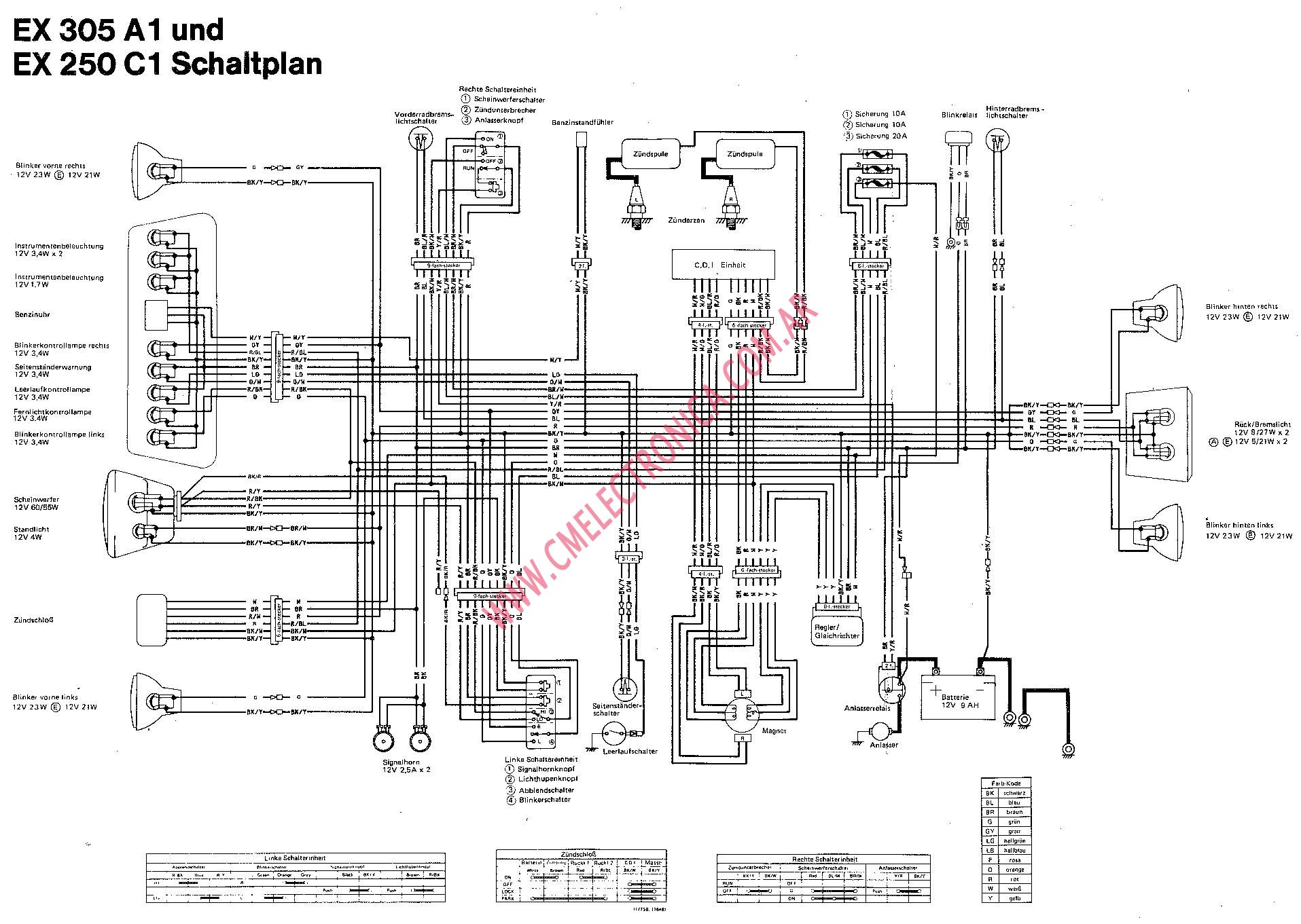 Suzuki Lt250 Wiring Diagram Automotive Circuit 89 Sidekick Quadrunner 250 4 Quad Lt At Hrqsolutions