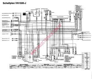 Diagrama kawasaki vn1500 j