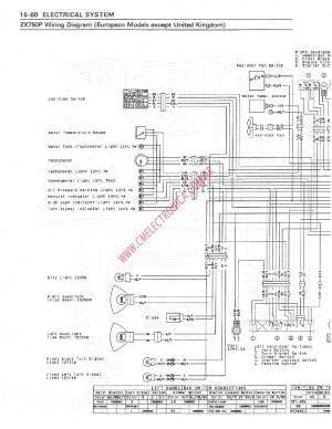 91 Zx7 Wiring Diagram  Wiring Diagram