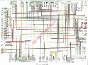 Diagrama kawasaki zzr600 99 on