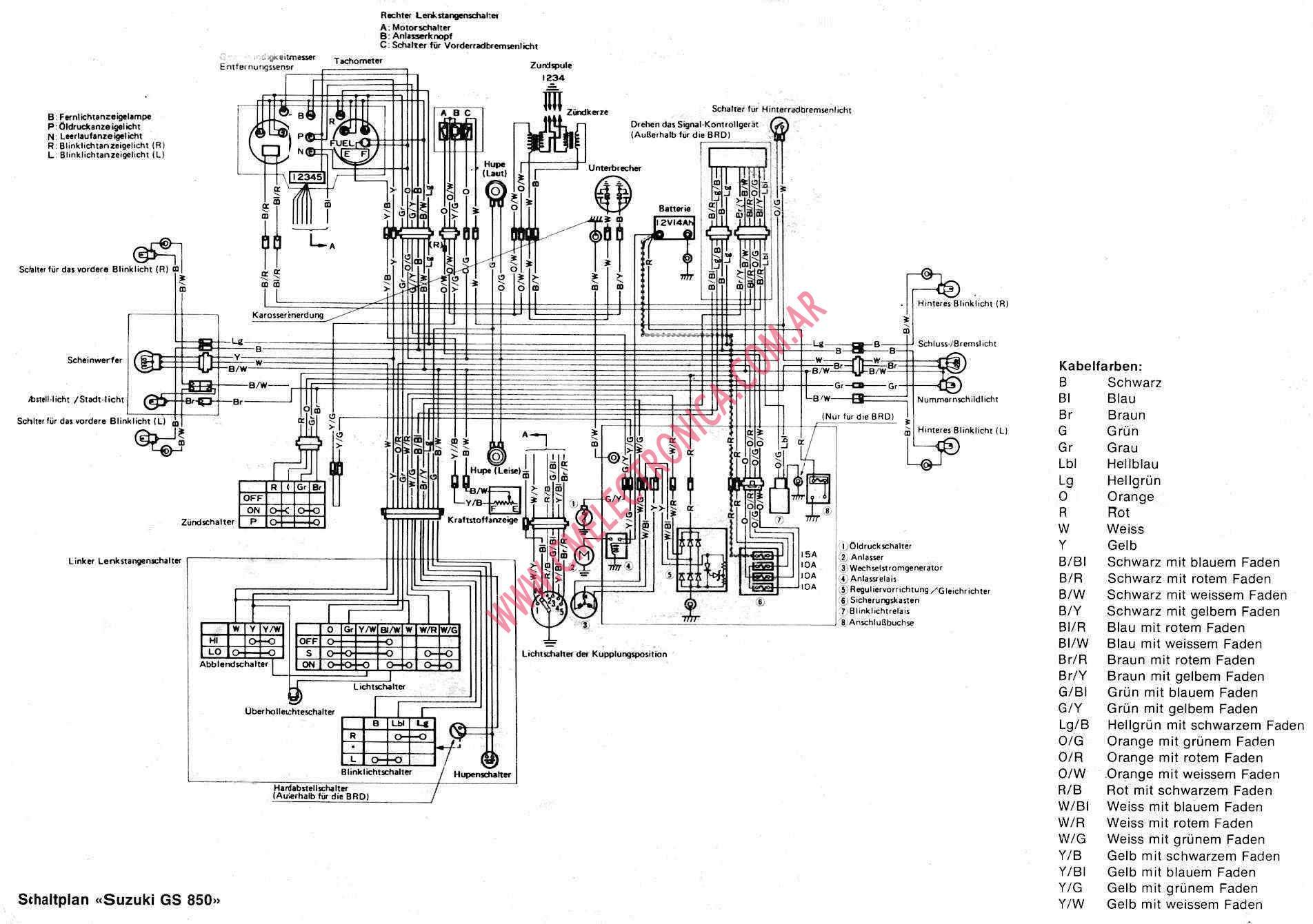 1982 suzuki gs 650 gl wiring diagram 1982 suzuki gs 1100