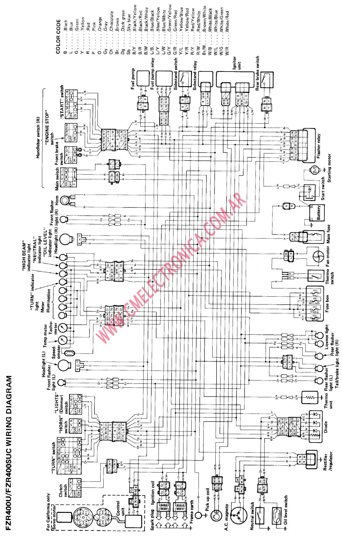 2004 Yamaha Kodiak 450 Wiring Diagram