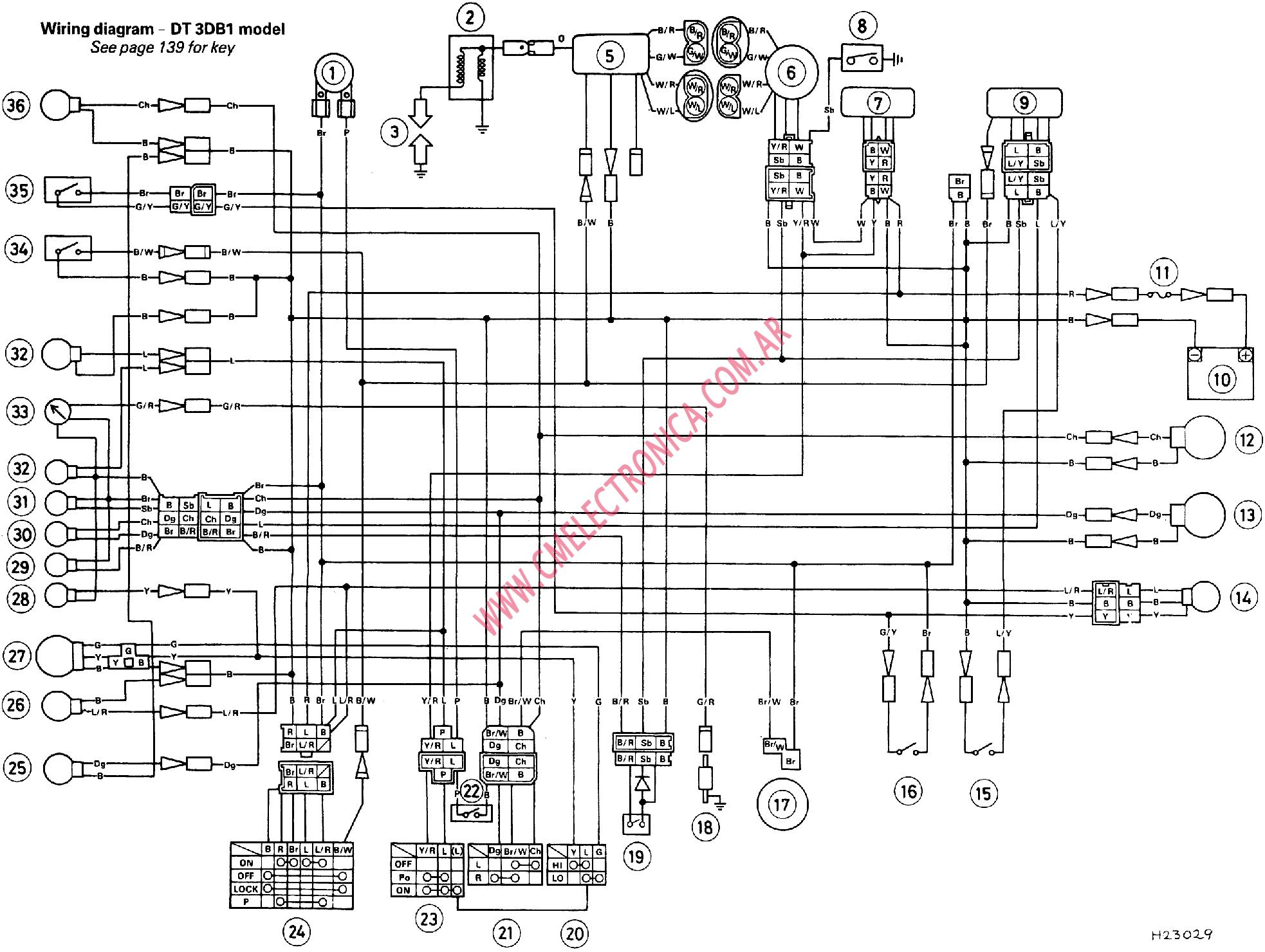 Aerox Wiring Diagram