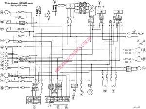 YAMAHA XS WIRING DIAGRAM  Auto Electrical Wiring Diagram
