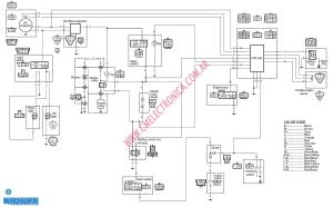 Diagrama yamaha wr250