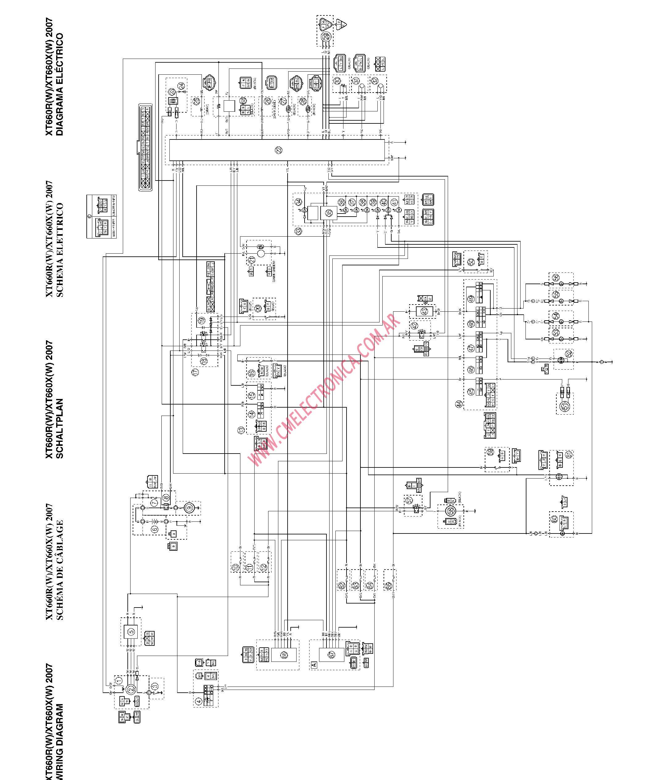 Yamaha R1 2005 Fuse Box  Auto Electrical Wiring Diagram