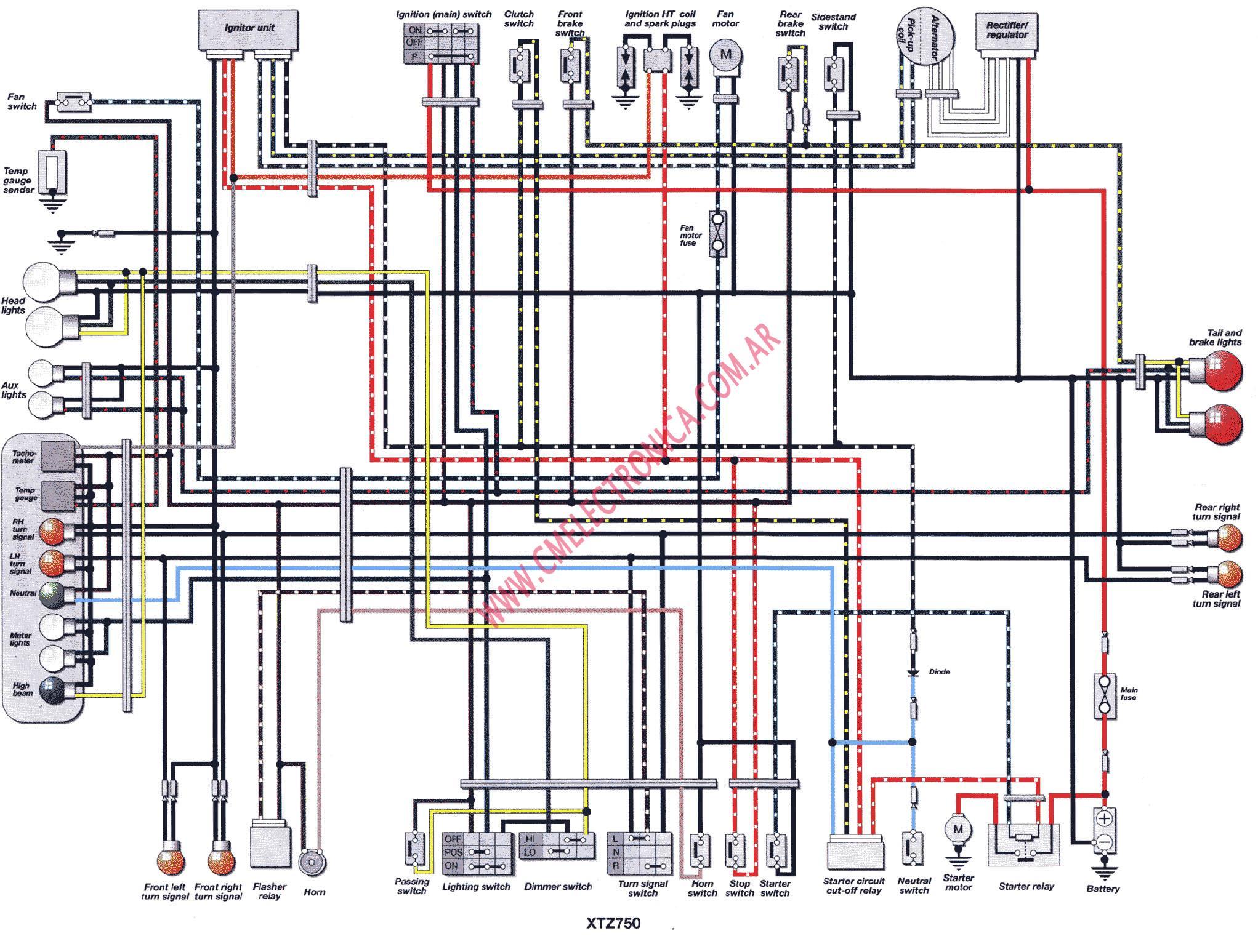1981 Yamaha Xs650 Wiring Diagram Auto Electrical 650 Schematics 1982