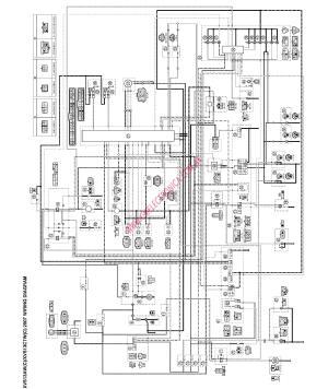 Diagrama yamaha xvs1300