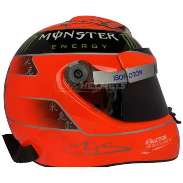 MICHAEL-SCHUMACHER-2012-F1-REPLICA HELMET-FULL-SIZE-BE5