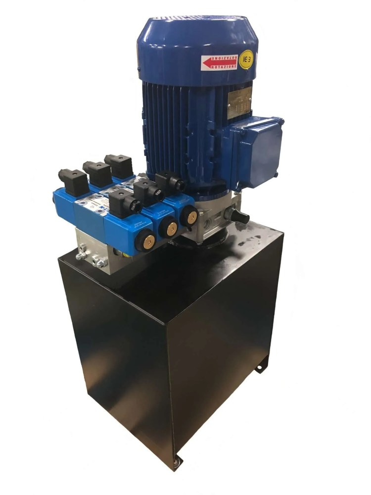 Minicentralina oleodinamica impianto settore enologico