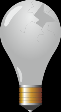 The Right Way to Approach Cleanup for a Broken Light Bulb