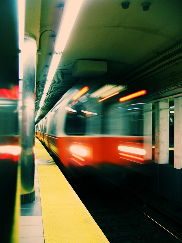Inbound Ghosts - Boston Orange Line