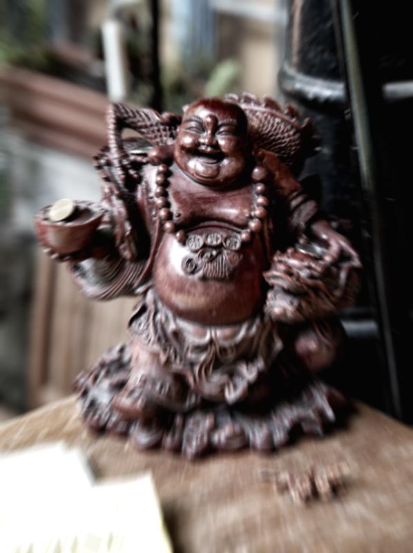 Buddha laughed