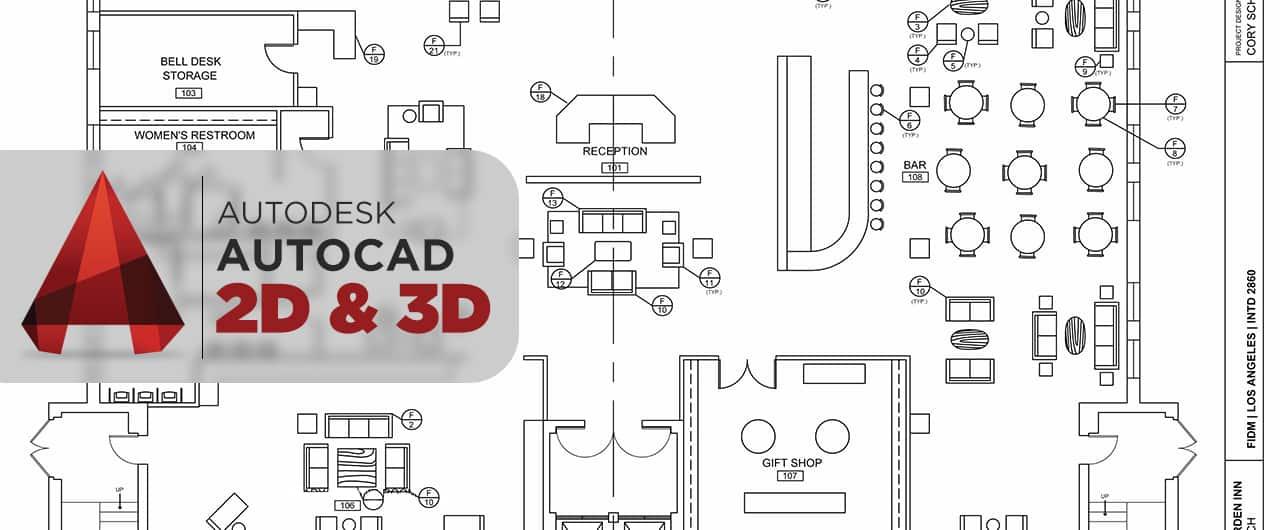 Autodesk AutoCad 2D 3D