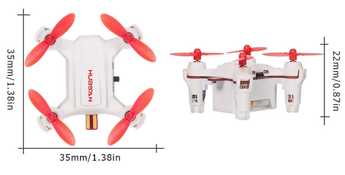 Hubsan H001 Specification