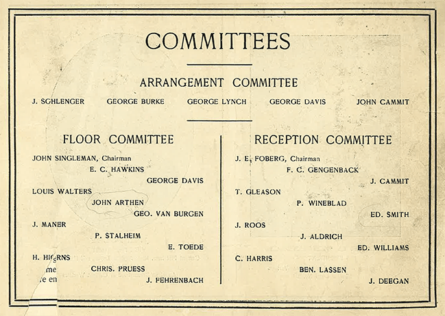 old committees