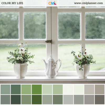 Indoor Greenery - Color Inspiration from Color My Life