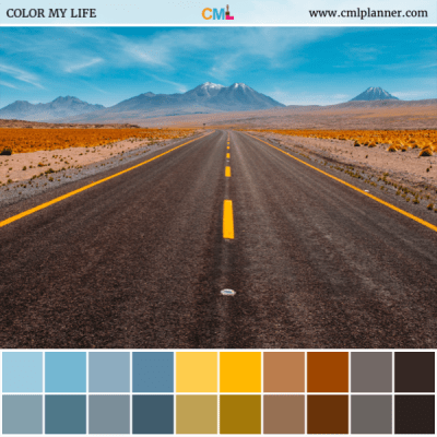 Color Road - Color Inspiration from Color My Life