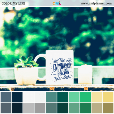 Liquid Encouragement - Color Inspiration from Color My Life