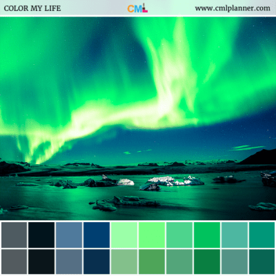 Sky Bright - Color Inspiration from Color My Life