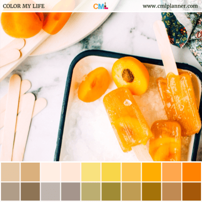 Frozen Treat - Color Inspiration from Color My Life