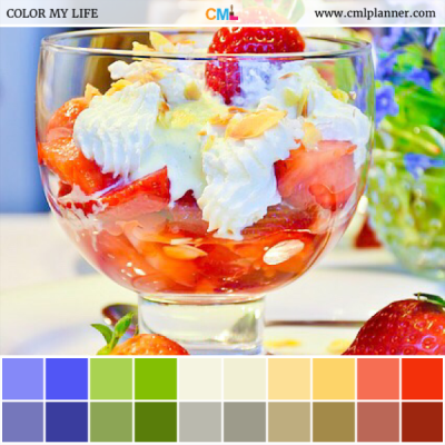 Strawberry Delight - Color Inspiration from Color My Life