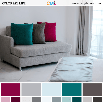 Upholstered Hues - Color Inspiration from Color My Life