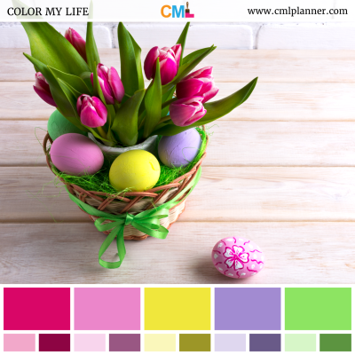 Easter Deco - Color Inspiration from Color My Life