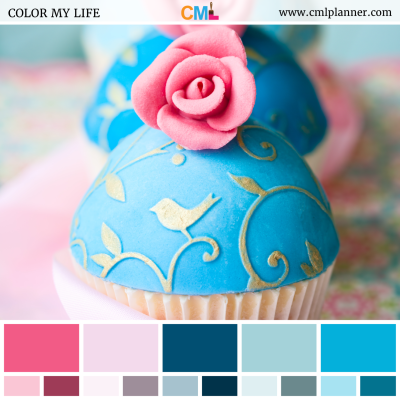 Cupcake Party - Color Inspiration from Color My Life