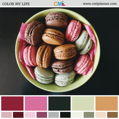 Muted Macaroons - Color Inspiration from Color My Life