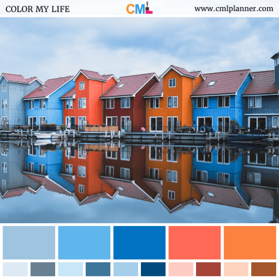 Color Row - Color Inspiration from Color My Life