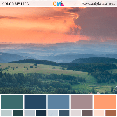 Color Palette #070218 - Color Inspiration from Color My Life
