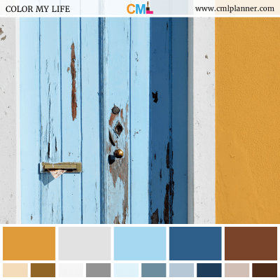 Color Palette #101018 - Color Inspiration from Color My Life